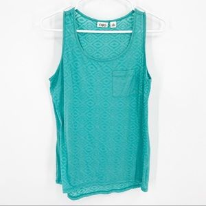 Cato Aqua Green Pocket Tank Size Medium